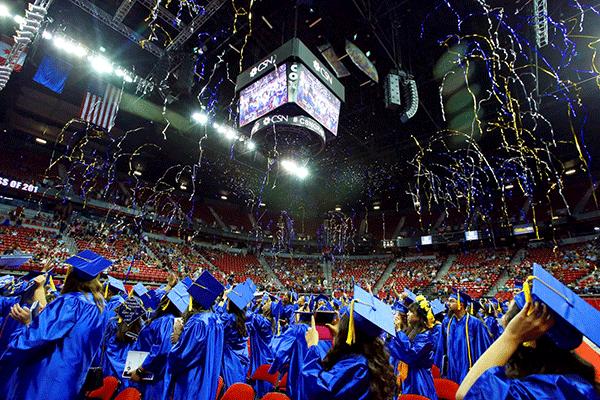 CSN students graduation ceremony
