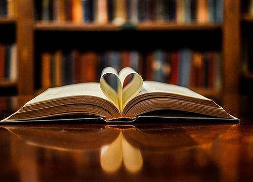 stack of literature books