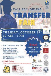 Image of Transfer Fair Flyer